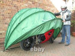 HideyHood 90 Motorbike Cover / Moped Scooter & Bike Storage Shelter