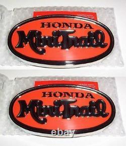 Honda Mini Trail Z 50 Z50 A Tank Emblems Rare 87121-045-000