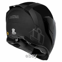 Icon Airflite MIPS Stealth Full Face Motorcycle Motorbike Helmet