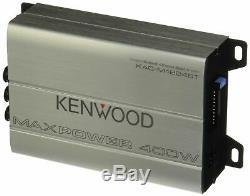 Kenwood Kac-m1824bt 4 Channel Boat Marne Motorcycle Bluetooth Speakers Amplifier