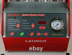 LAUNCH CNC602A 6-Cylinder Ultrasonic Fuel Injector Cleaner Tester for Petrol Car