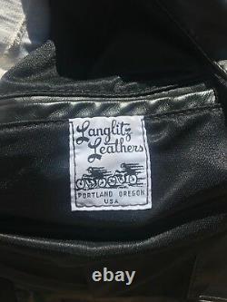 Langlitz Leather Motorcycle Jacket Columbia
