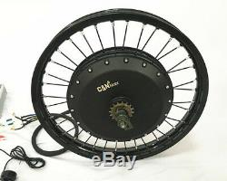 Leili 5000with72v Electric Bike Ebike Fat Tire Regular Tire Conversion Kit MOTOR