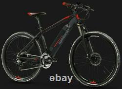 Lombardo Valderice Electric Mountain Bike Bafang 250W Hub Motor, 18 Frame