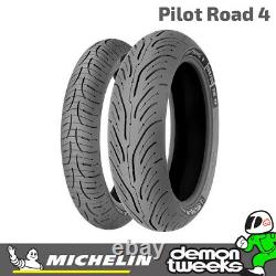 Michelin Pilot Road 4 Motorcycle/Bike Sport Touring Tyre 120/70 ZR17 Front 2CT