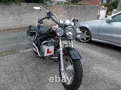 Motorcycle 125cc. Black. Great looking bike needs tlc stored for the last year