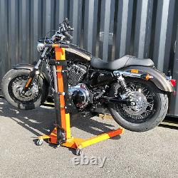 Motorcycle Lift, Harley Davidson Lift All Custom Cruisers 500kgs Orange Black