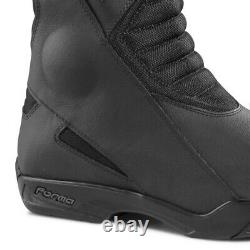 Motorcycle boots Forma Poker touring road street black waterproof riding gear