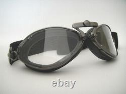 NEW AVIATOR 4400 GOGGLES L JEANTET Motorcycle Vintage Pilot Racing Classic LUXE