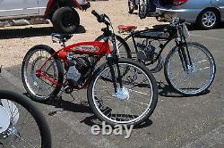 NEW Monark Motorized Bike Dual Springer Suspension Fork Heavy Duty BUILT IN USA