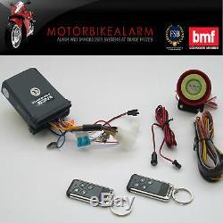 Ncs V2 Motorbike Bike Motorcycle Alarm & Immobiliser Remote Control Start