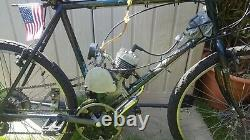 Petrol Bicycle Motorised Bike Upgraded 80cc Engine Monkey/ Pit bike 40mph