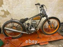Rare Late 30's Peugeot Speedway Bike Project Display Motorcycle 125