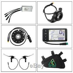 Retrofit Kit 36V250W 28 700c Electric Bike Conversion Kit Front Hub Motor Wheel