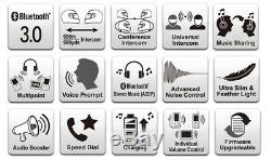 SENA SMH10R Motorcycle Helmet Low Profile Bluetooth Headset/Intercom