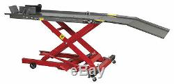 Sealey MC365 Hydraulic Motorcycle Motorbike Bike Lift Bench Ramp 365kg