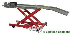 Sealey MC365 Hydraulic Motorcycle Motorbike Lift Ramp Bench 365Kg Capacity New