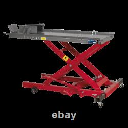 Sealey Motorcycle Lift 365kg Capacity Hydraulic MC365