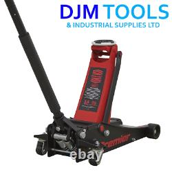 Sealey Tools 2500LE Trolley Jack 2.5 Tonne 2.5T 88mm Ultra Low Entry Sports Car