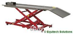 Sealey Tools MC454 Hydraulic Motorcycle Motorbike Lift Ramp Bench 450Kg Capacity