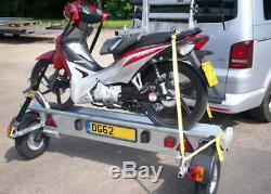 Side Loading Motorcycle Trailer manufactured by Armitage Trailers & Towbars