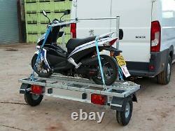 Sideload Motorcycle/Scooter Trailer for Motorhomes and Camper vans