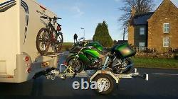 Single / One Bike Folding Trailer Motorcycle /motorbike