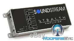 Soundstream St4.1200d Motorcycle 4 Channel 1200w Component Speakers Amplifier