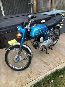 Suzuki AP50 Moped in VGC 1980