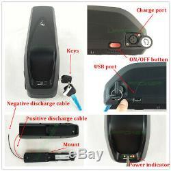 UK 48V13Ah Hailong Li-oin Battery Electric Bike Downtube Battery for 1000W Motor