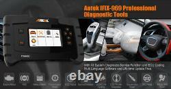 UK ANCEL Pro Full System Diagnostic OBD2 Scanner 12 Reset Oil Coding Programmer