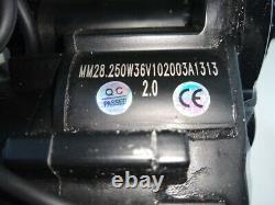 UK Road Legal 36V Switchable 250/500watt E-bike mid drive motor conversion kit