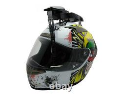 UVIA Helmet Visor Shield Wiper for SHARK SCHUBERTH SUOMY X-LITE AIROH SKULLY