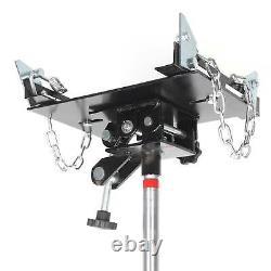 Vertical Telescopic Car Transmission Jack 500kg Hydraulic Motor Gearbox Lift 0.5