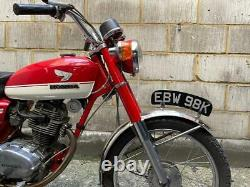 Vintage 1972 Honda CB125 S CLASSIC MOTORCYCLE