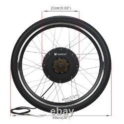 Voilamart 26 Rear Wheel Electric Bicycle 1000W 48V E Bike Motor Conversion Kit