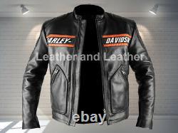 WWe Goldberg Motorcycle Biker Leather Jacket Harley Davidson Motorcycle jacket