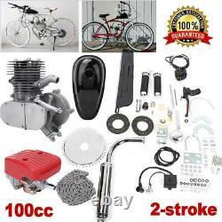 100cc Motorisé Motorized Bicycle Push Bike 2-stroke Motor Petrol Gas Engine Kit