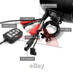 1200w Amp Bluetooth Étanche Moto Stéréo 4 Haut-parleurs Du Système Audio Harley