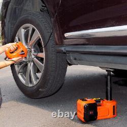 12v 5ton Voiture Électrique Jack Plancher Hydraulique Jack Impact Wrench 45cm Pompe De Gonflage