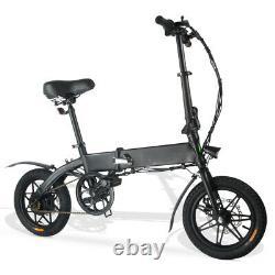 14 Vélo Électrique Pliant Vélo De Ville Commuter E-bike 250w Moto Vélo Ebike