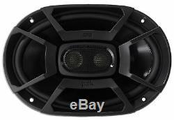 (2) Polk Audio Db692 6x9 450 Watt Autoradio Marine / Vtt / Moto / Bateau Haut-parleurs