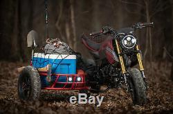 2014-2019 Honda Motorcycle Grom Gus Utilitaire Sidecar