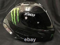 2021 X-lite X803 Rs Hot Lap Carbon Dark Visor Motorcycle Helmet Monster
