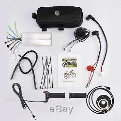 26 48v 1000w Vélo Électrique Conversion Kit Roue Avant Brushless Hub Moteur