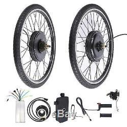 26 Conversion Vélo Électrique Kit 500w E Vélo Arrière De Moyeu De Roue Moteur