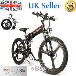 26 '' Ebike Pliant Vélo Électrique 48v 350w Moteur Électrique Vélo De Montagne E-bike