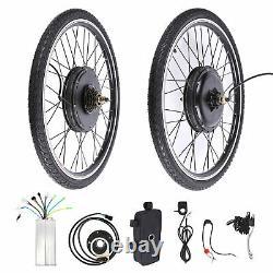 26 Electric Bicycle Conversion Kit E Bike Rear Wheel Motor Hub 1000w 48v Royaume-uni
