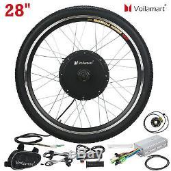 28 Moteur Roue Avant Vélo Électrique Kit De Conversion Vélo Hub Vélo 48v 1000w