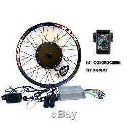 3.2 Tft + 3000w Électrique Vtt Vélo E Hub Vélo Kit De Conversion Moteur